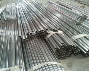 AISI 201 / 304 / 316 Stainless Steel Welded Pipe Round Stainless Steel Tube