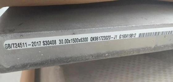S30408 Stainless Steel Plates 06Cr19Ni10 Inox Plate SUS304 10-150mm Thickness